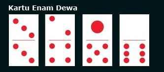 kartu enam dewa domino qq