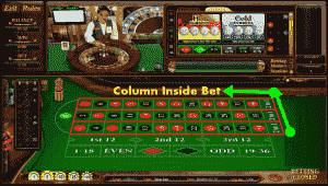 Column inside bet roulette