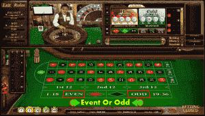 event or odd roulette