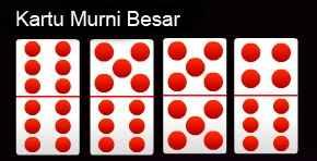 kartu murni besar domino qq